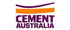 Cement Australia logo.