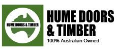 Hume Doors & Timber Logo.