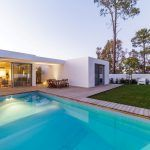 Luxury home with pool and deck | Featured image for decking timber landing page.