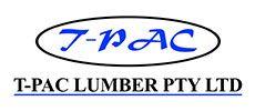 T-Pac Lumber logo.