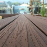 Close up of timber decking boards | Featured image for Hardware supplies Brisbane landing page.
