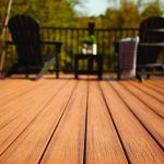 Outdoor deck close up image of timber decking boards | Featured image for Hardware supplies Brisbane landing page.